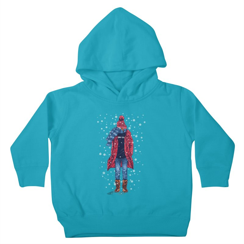 Snow Cool Kids Toddler Pullover Hoody by barmalisiRTB