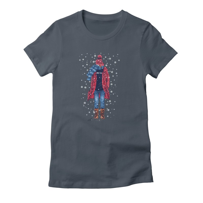 Snow Cool Women's T-Shirt by barmalisiRTB