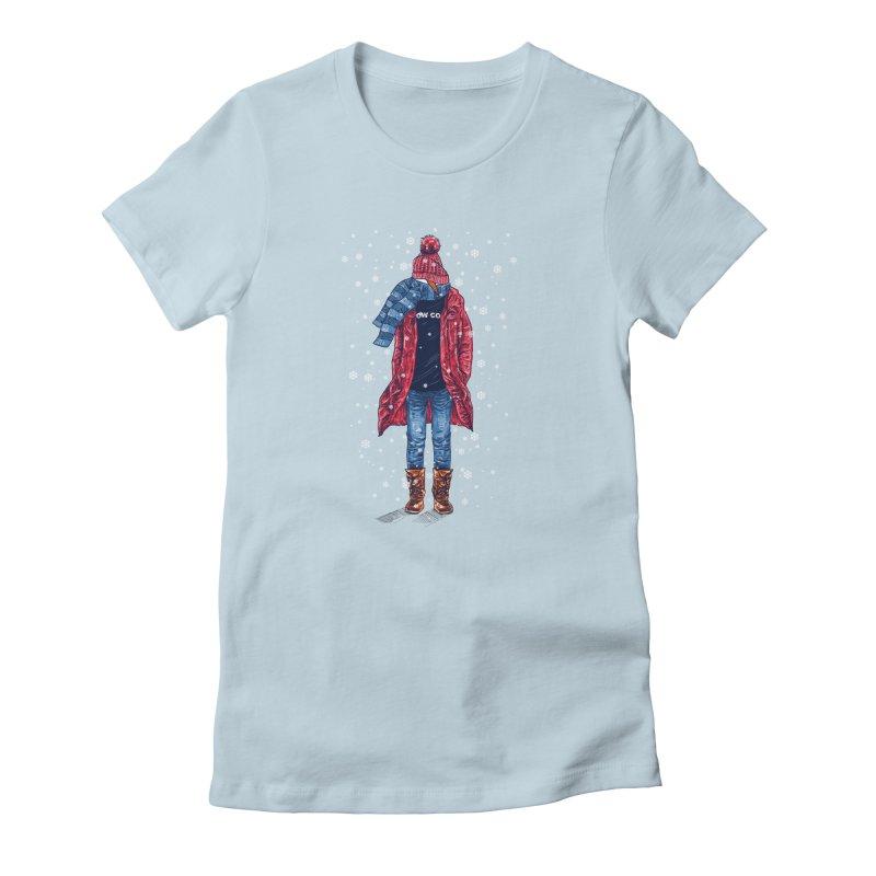 Snow Cool Women's T-Shirt by barmalisiRTB