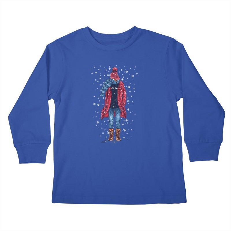 Snow Cool Kids Longsleeve T-Shirt by barmalisiRTB
