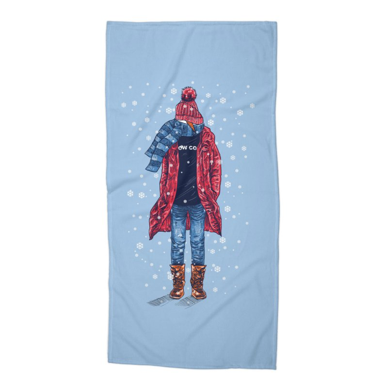 Snow Cool Accessories Beach Towel by barmalisiRTB