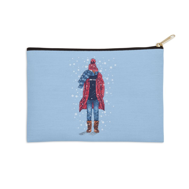 Snow Cool Accessories Zip Pouch by barmalisiRTB