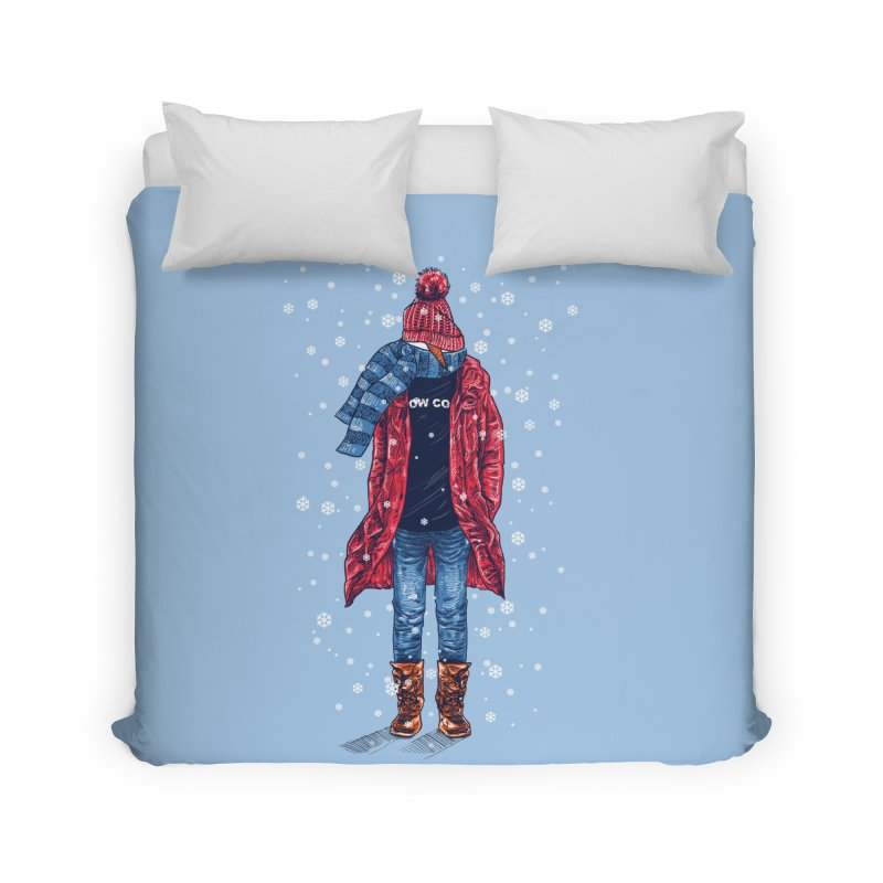 Snow Cool Home Duvet by barmalisiRTB