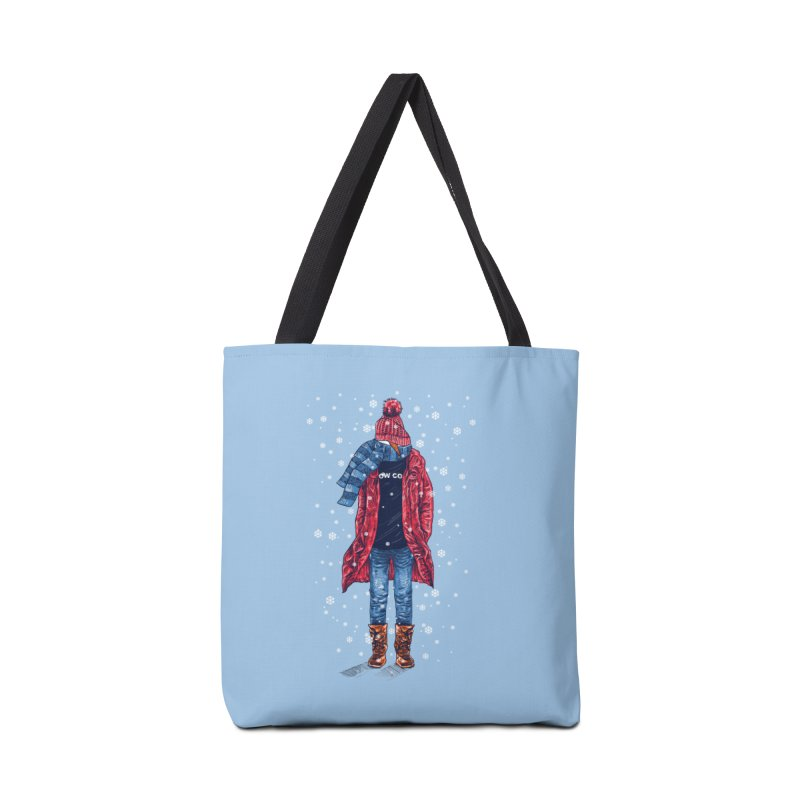 Snow Cool Accessories Tote Bag Bag by barmalisiRTB