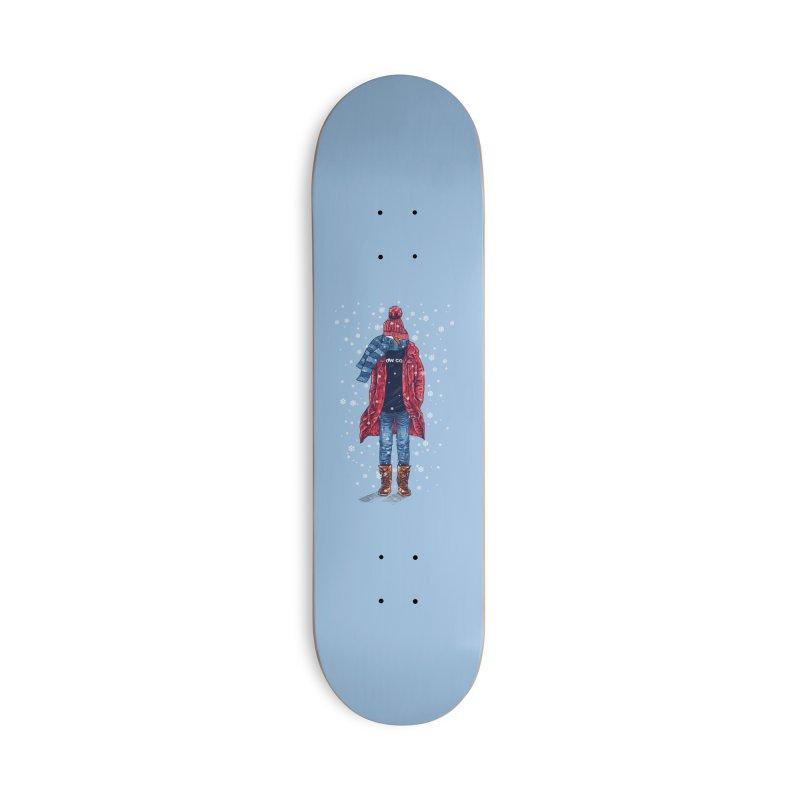 Snow Cool Accessories Skateboard by barmalisiRTB