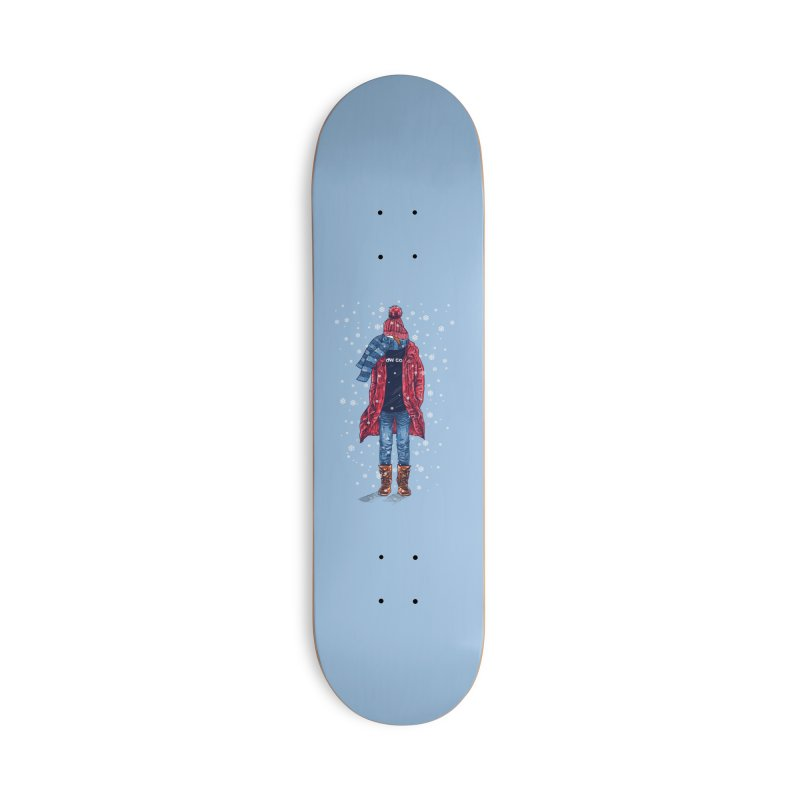 Snow Cool Accessories Deck Only Skateboard by barmalisiRTB