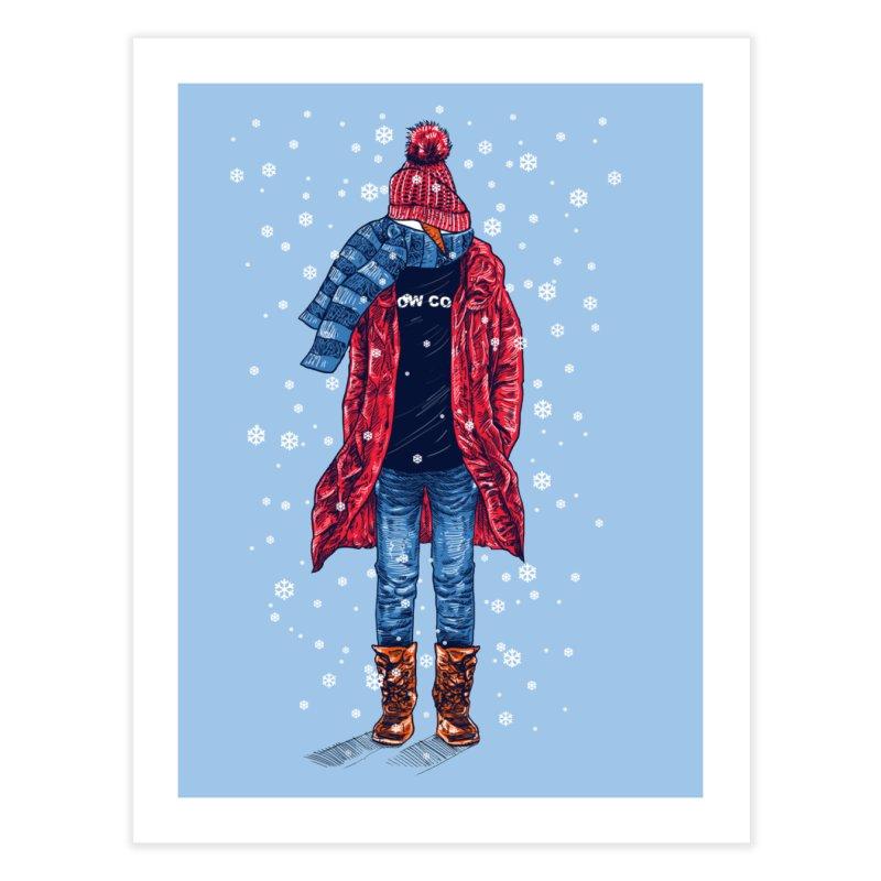 Snow Cool Home Fine Art Print by barmalisiRTB