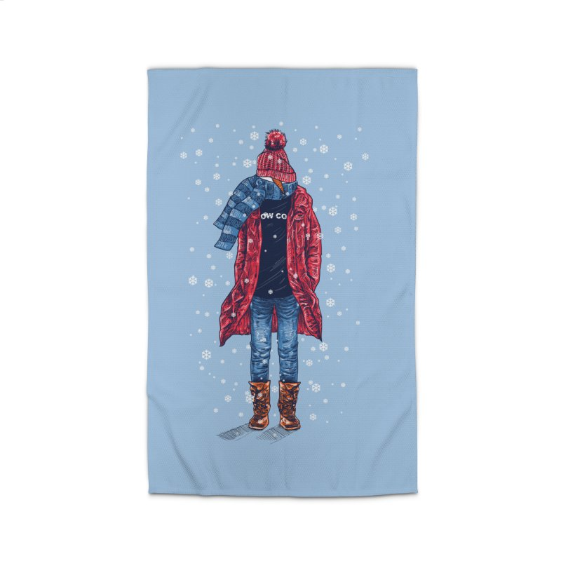 Snow Cool Home Rug by barmalisiRTB