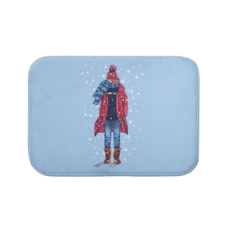 Snow Cool Home Bath Mat by barmalisiRTB