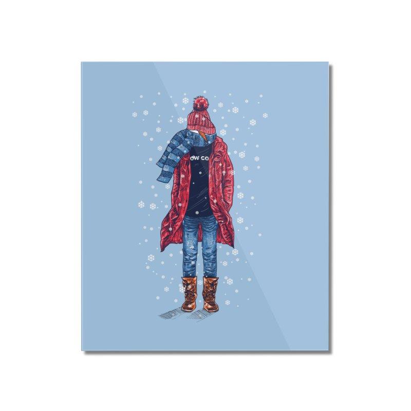 Snow Cool Home Mounted Acrylic Print by barmalisiRTB