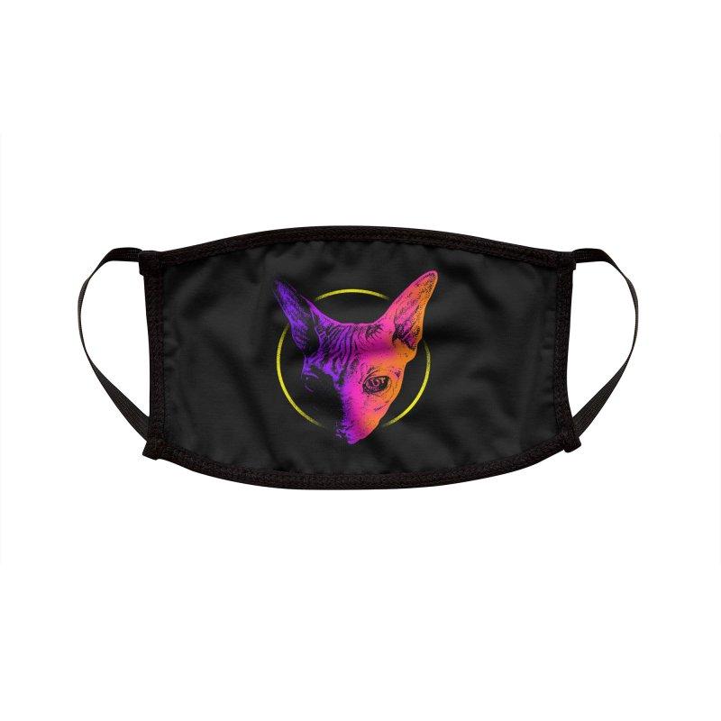 Sphynx Head Accessories Face Mask by barmalisiRTB