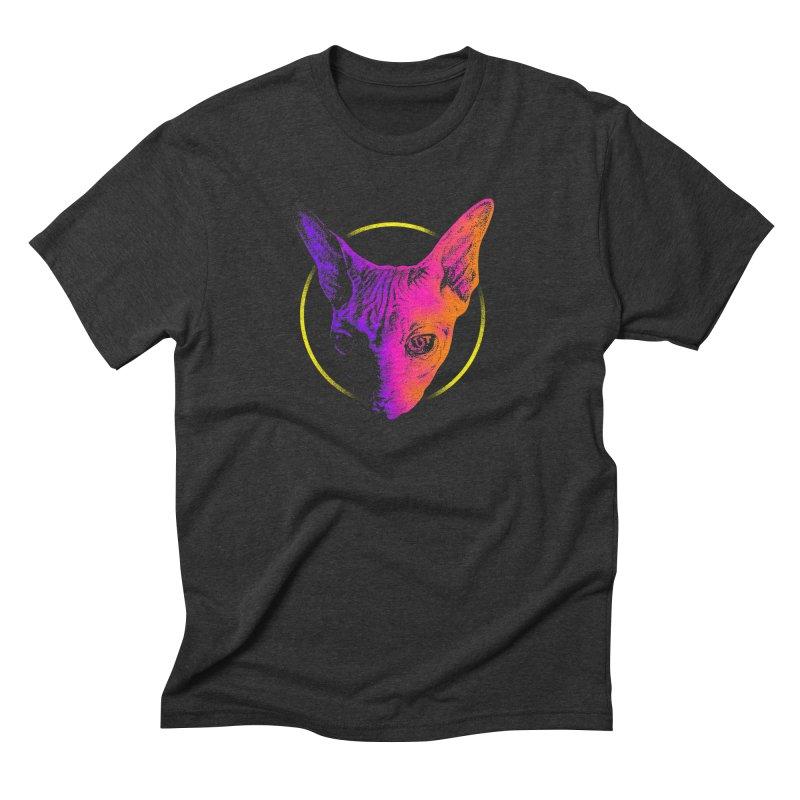 Sphynx Head Men's T-Shirt by barmalisiRTB