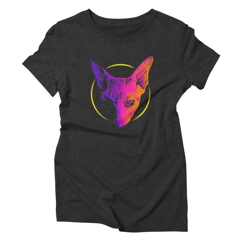 Sphynx Head Women's T-Shirt by barmalisiRTB