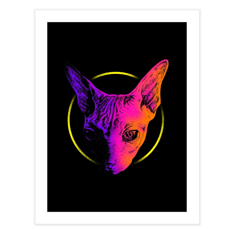 Sphynx Head Home Fine Art Print by barmalisiRTB
