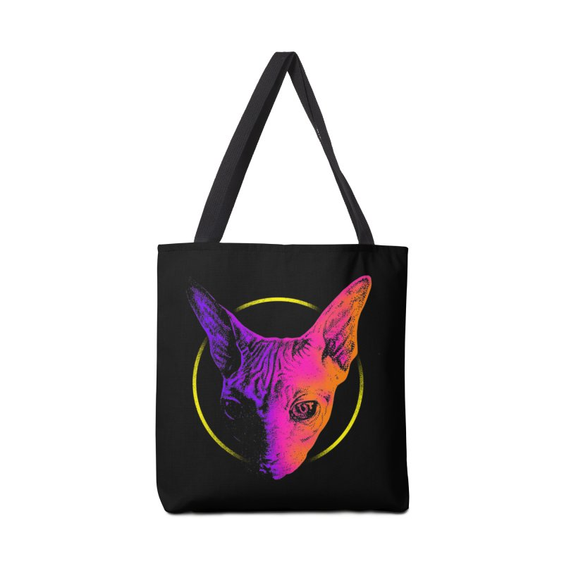 Sphynx Head Accessories Tote Bag Bag by barmalisiRTB