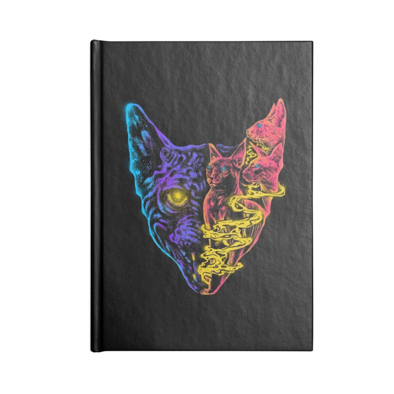 Love that Evil look Accessories Blank Journal Notebook by barmalisiRTB