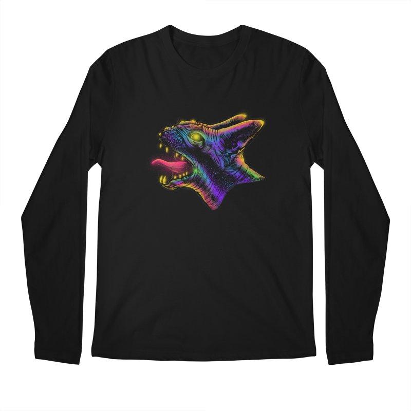 Sphynx head Angry Men's Longsleeve T-Shirt by barmalisiRTB