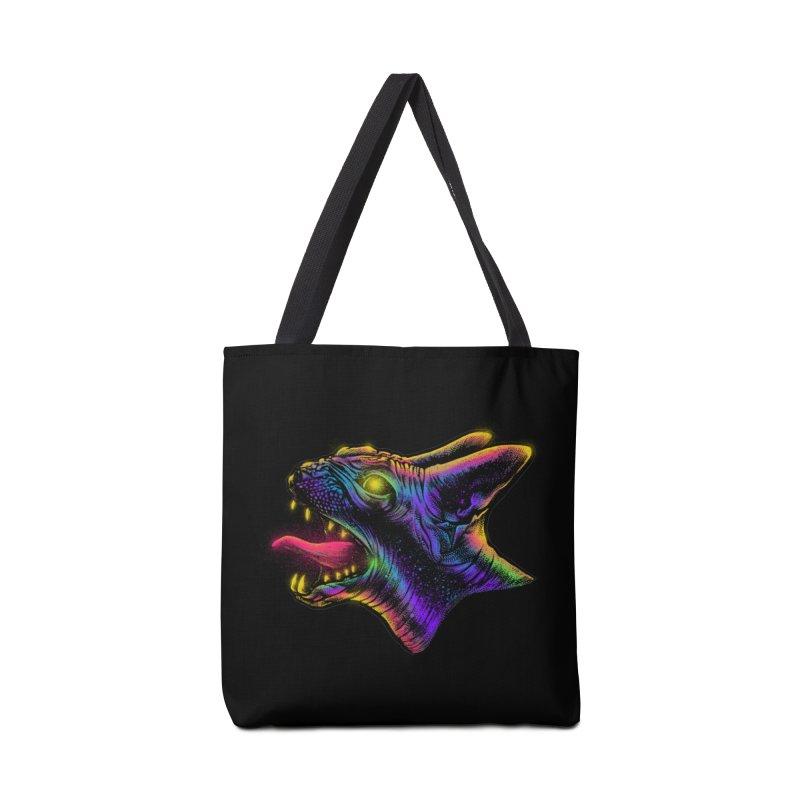 Sphynx head Angry Accessories Tote Bag Bag by barmalisiRTB
