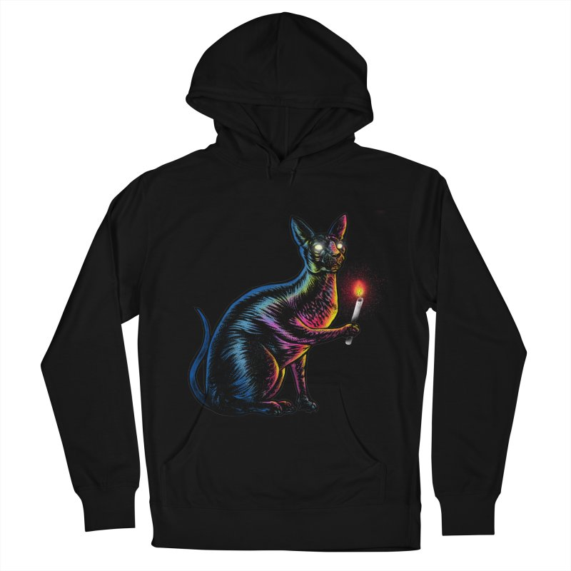 Mystery of Sphynx Men's French Terry Pullover Hoody by barmalisiRTB