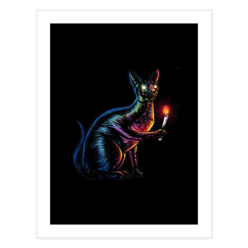 Mystery of Sphynx Home Fine Art Print by barmalisiRTB