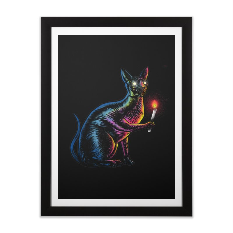 Mystery of Sphynx Home Framed Fine Art Print by barmalisiRTB