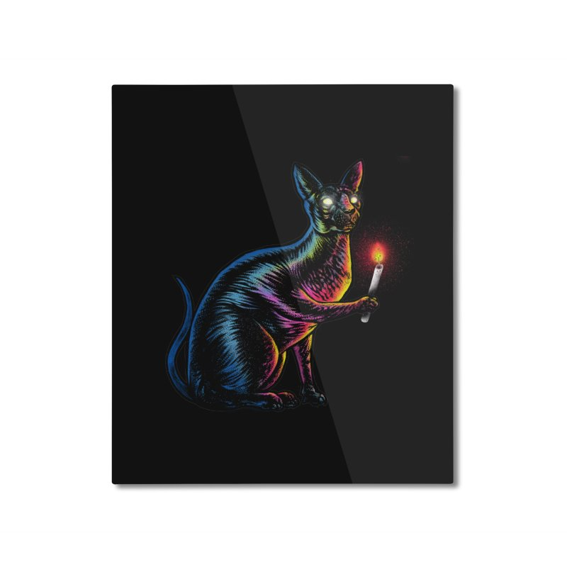 Mystery of Sphynx Home Mounted Aluminum Print by barmalisiRTB