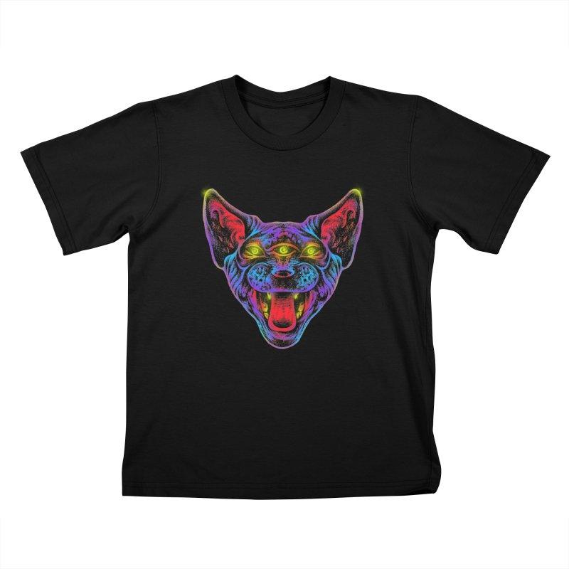 Muy enojado Kids T-Shirt by barmalisiRTB