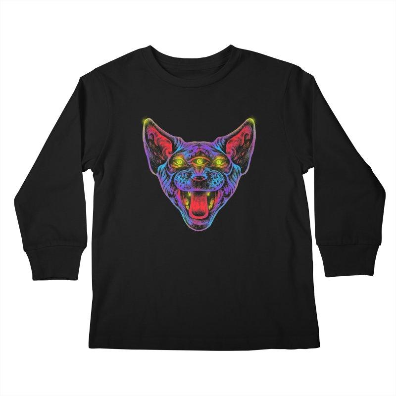 Muy enojado Kids Longsleeve T-Shirt by barmalisiRTB