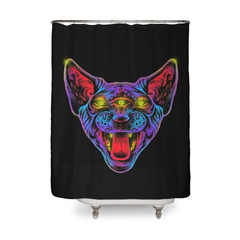 Muy enojado Home Shower Curtain by barmalisiRTB