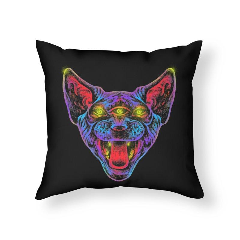 Muy enojado Home Throw Pillow by barmalisiRTB