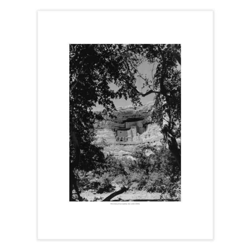 Montezuma Castle, AZ, USA (1935) Home Fine Art Print by nagybarnabas's Artist Shop