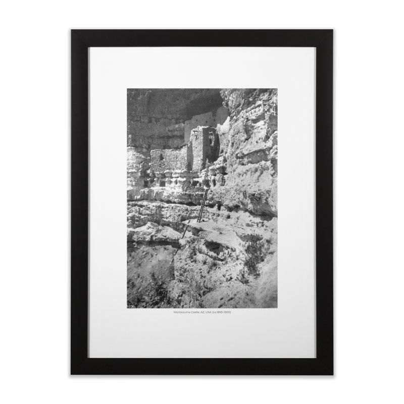 Montezuma Castle, AZ, USA (ca.1893-1900) Home Framed Fine Art Print by nagybarnabas's Artist Shop