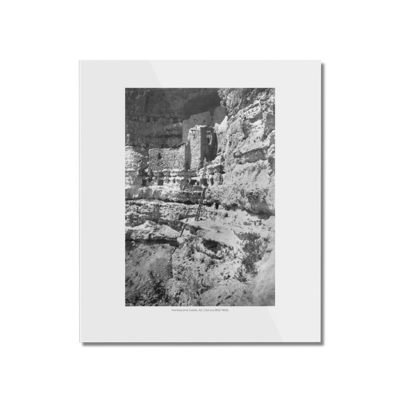 Montezuma Castle, AZ, USA (ca.1893-1900) Home Mounted Acrylic Print by nagybarnabas's Artist Shop
