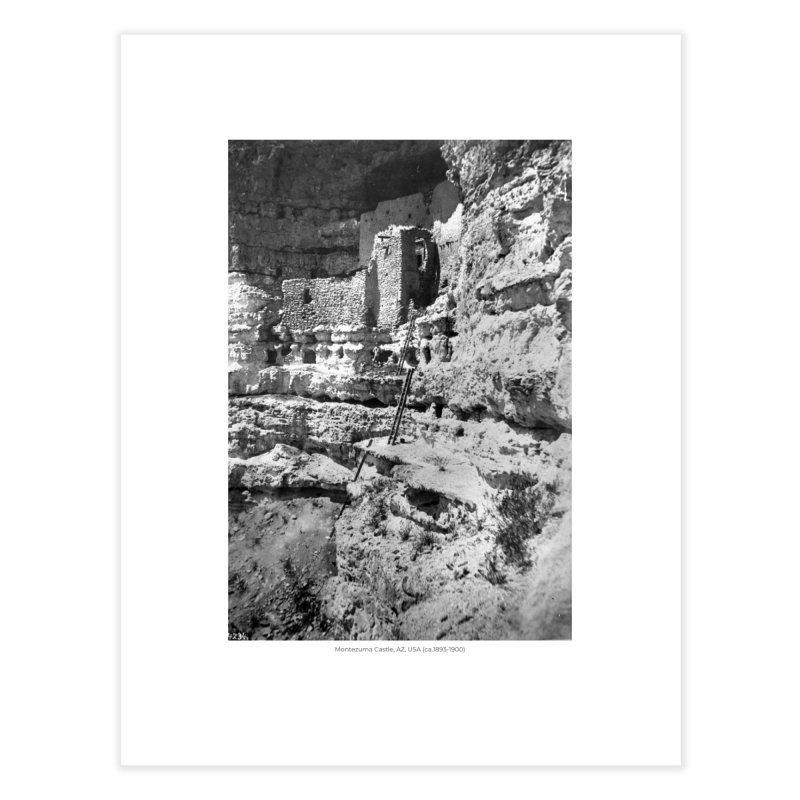 Montezuma Castle, AZ, USA (ca.1893-1900) Home Fine Art Print by nagybarnabas's Artist Shop