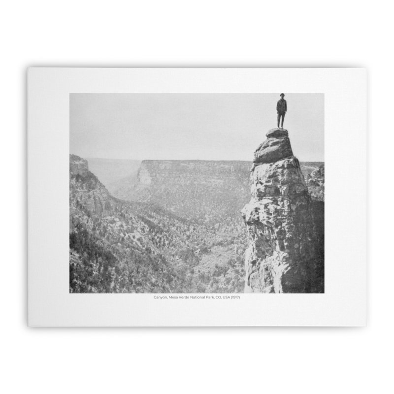 Canyon, Mesa Verde National Park, CO, USA (1917) Home Stretched Canvas by nagybarnabas's Artist Shop