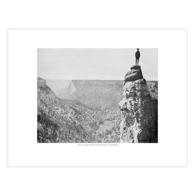 Canyon, Mesa Verde National Park, CO, USA (1917) Home Fine Art Print by nagybarnabas's Artist Shop