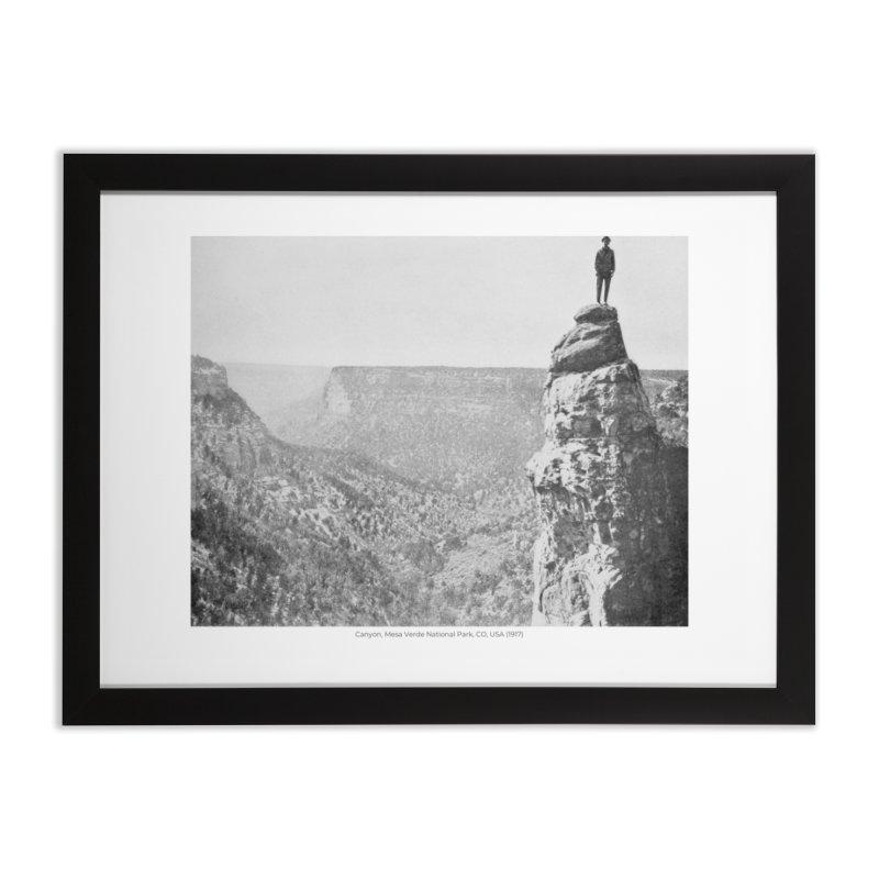 Canyon, Mesa Verde National Park, CO, USA (1917) Home Framed Fine Art Print by nagybarnabas's Artist Shop