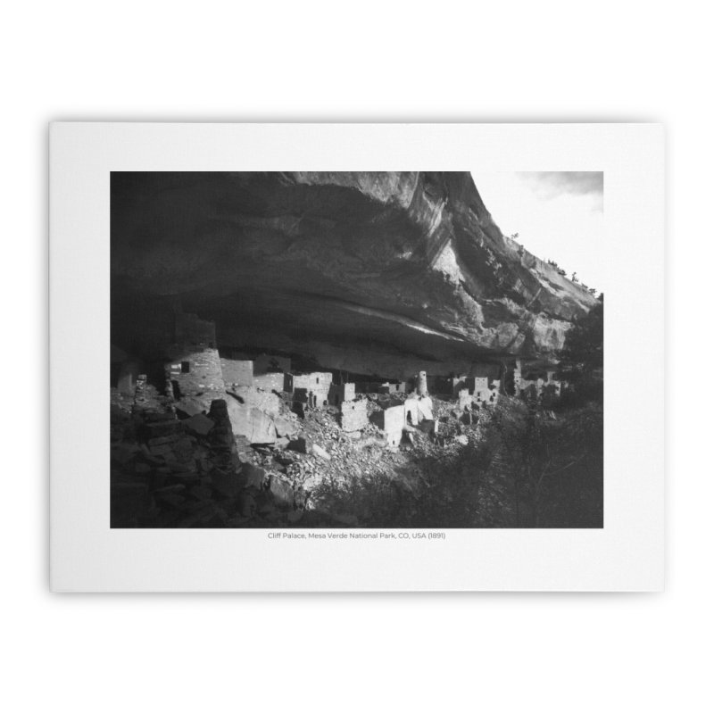 Cliff Palace, Mesa Verde National Park, CO, USA (1891) Home Stretched Canvas by nagybarnabas's Artist Shop
