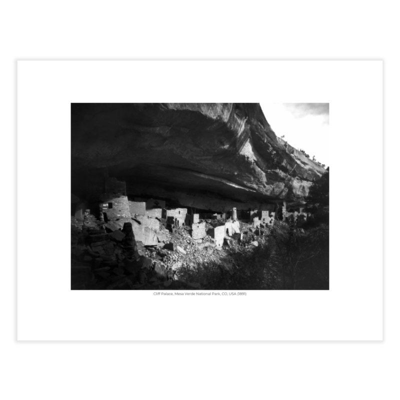 Cliff Palace, Mesa Verde National Park, CO, USA (1891) Home Fine Art Print by nagybarnabas's Artist Shop