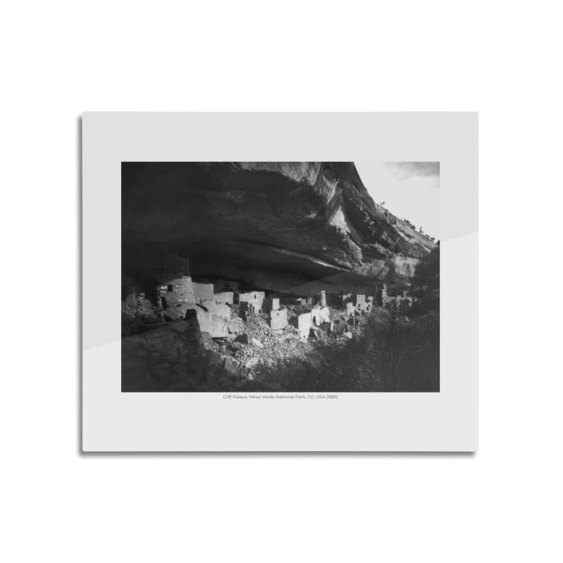 Cliff Palace, Mesa Verde National Park, CO, USA (1891) Home Mounted Aluminum Print by nagybarnabas's Artist Shop