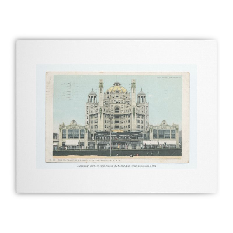 Marlborough-Blenheim Hotel, Atlantic City, NJ, USA, (1908) Home Stretched Canvas by nagybarnabas's Artist Shop