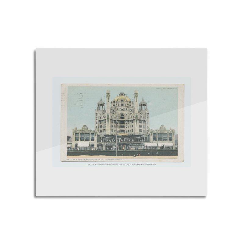 Marlborough-Blenheim Hotel, Atlantic City, NJ, USA, (1908) Home Mounted Aluminum Print by nagybarnabas's Artist Shop