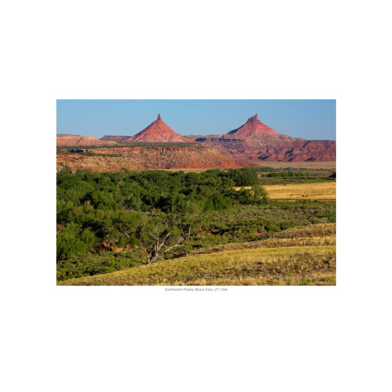 Sixshooter Peaks, Bears Ears, UT, USA by nagybarnabas's Artist Shop