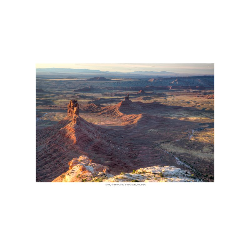 Valley of the Gods, Bears Ears, UT, USA by nagybarnabas's Artist Shop