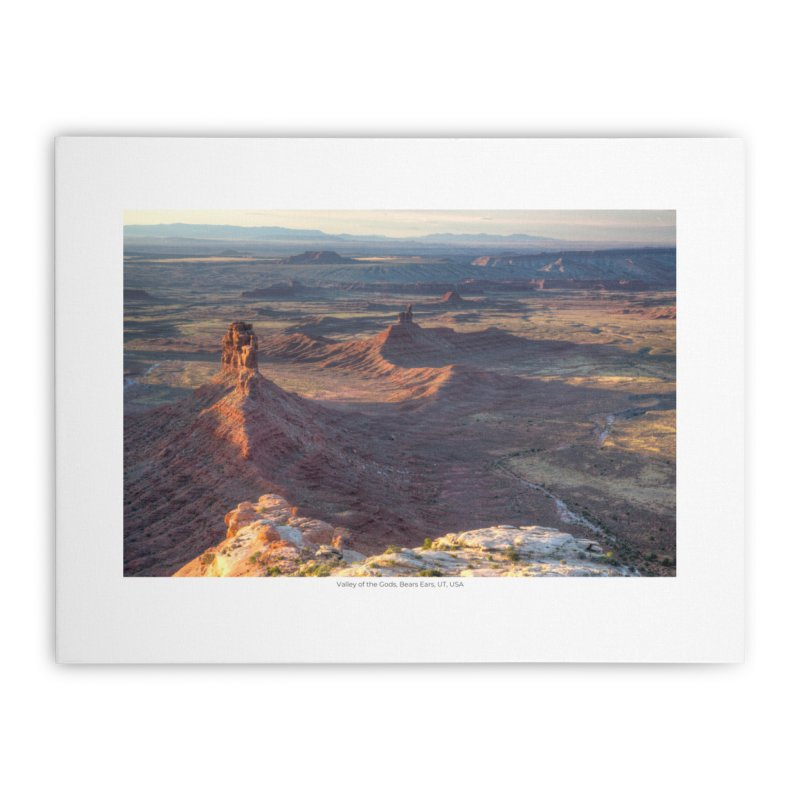 Valley of the Gods, Bears Ears, UT, USA Home Stretched Canvas by nagybarnabas's Artist Shop
