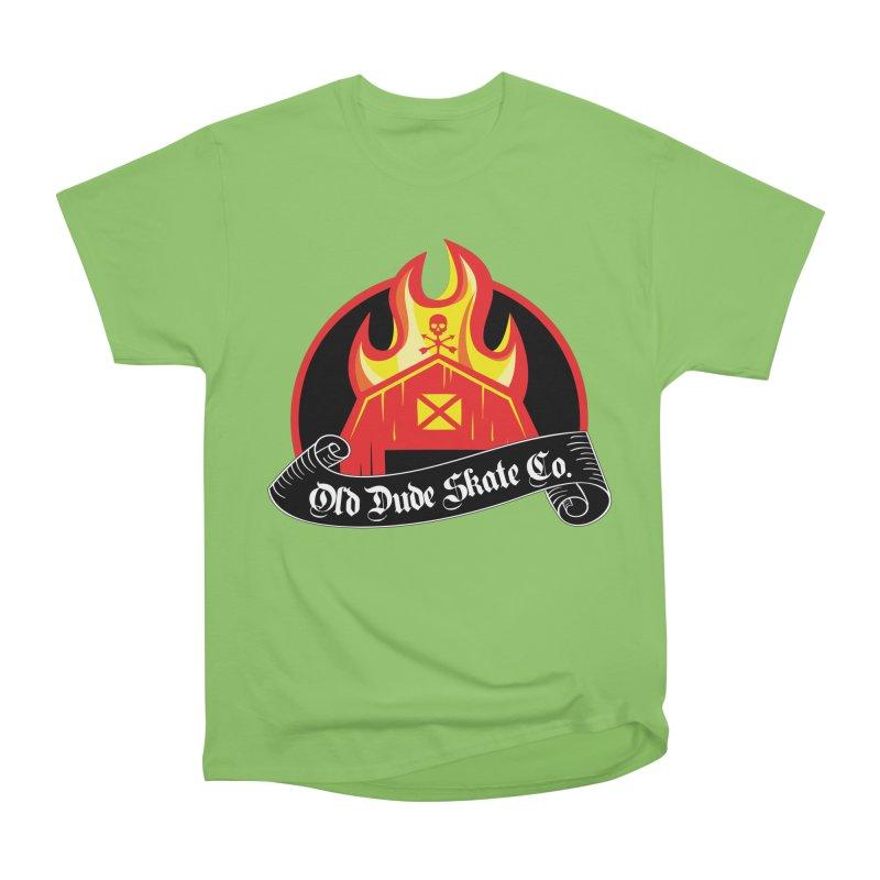 ODS Barn Burner Men's Heavyweight T-Shirt by Drew's Barn Burner Shop