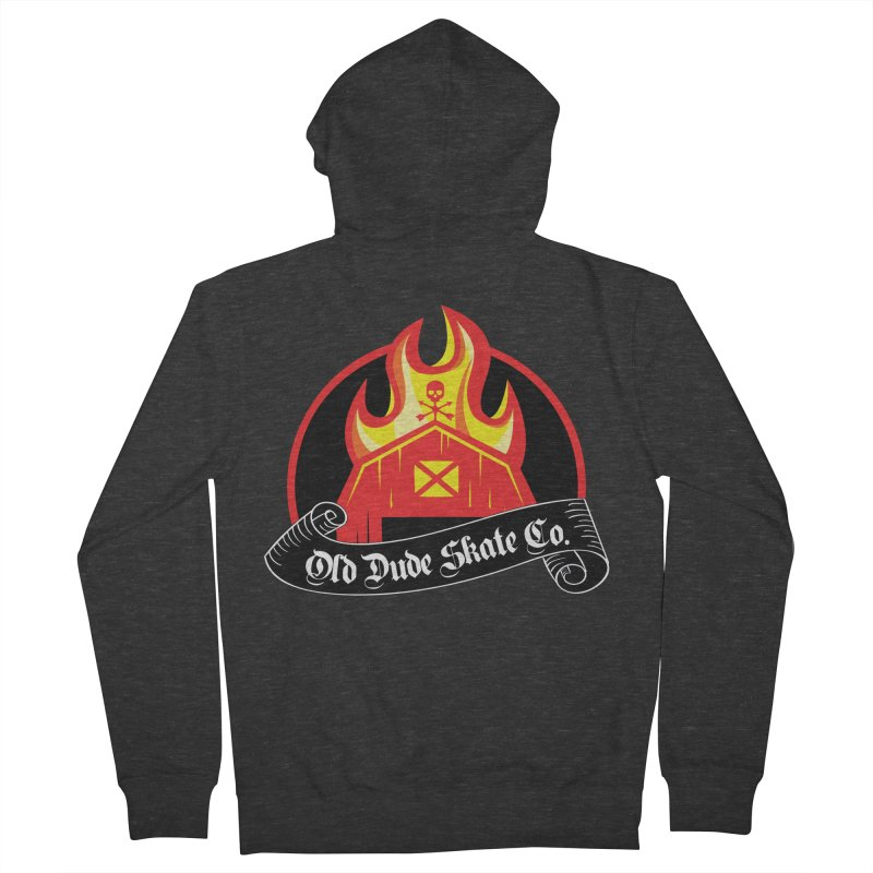 ODS Barn Burner Men's Zip-Up Hoody by Drew's Barn Burner Shop