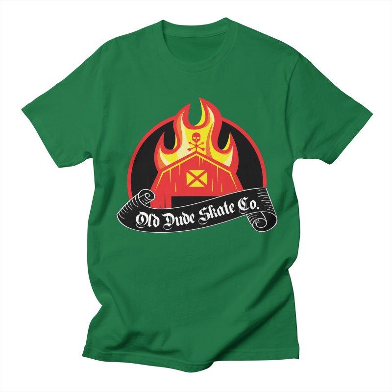 ODS Barn Burner Men's Regular T-Shirt by Drew's Barn Burner Shop