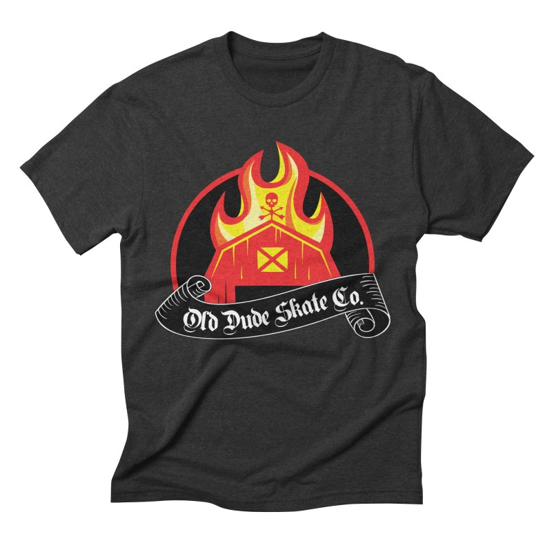 ODS Barn Burner Men's Triblend T-Shirt by Drew's Barn Burner Shop