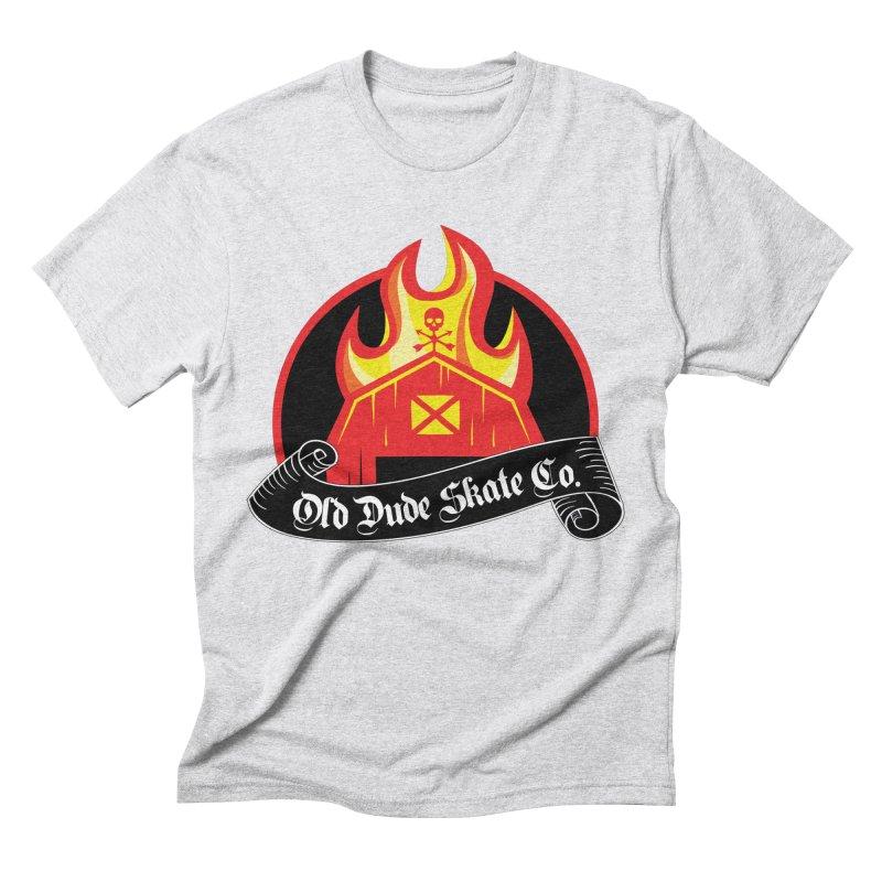 ODS Barn Burner Men's Triblend T-Shirt by Drew's Barn Burner Shop
